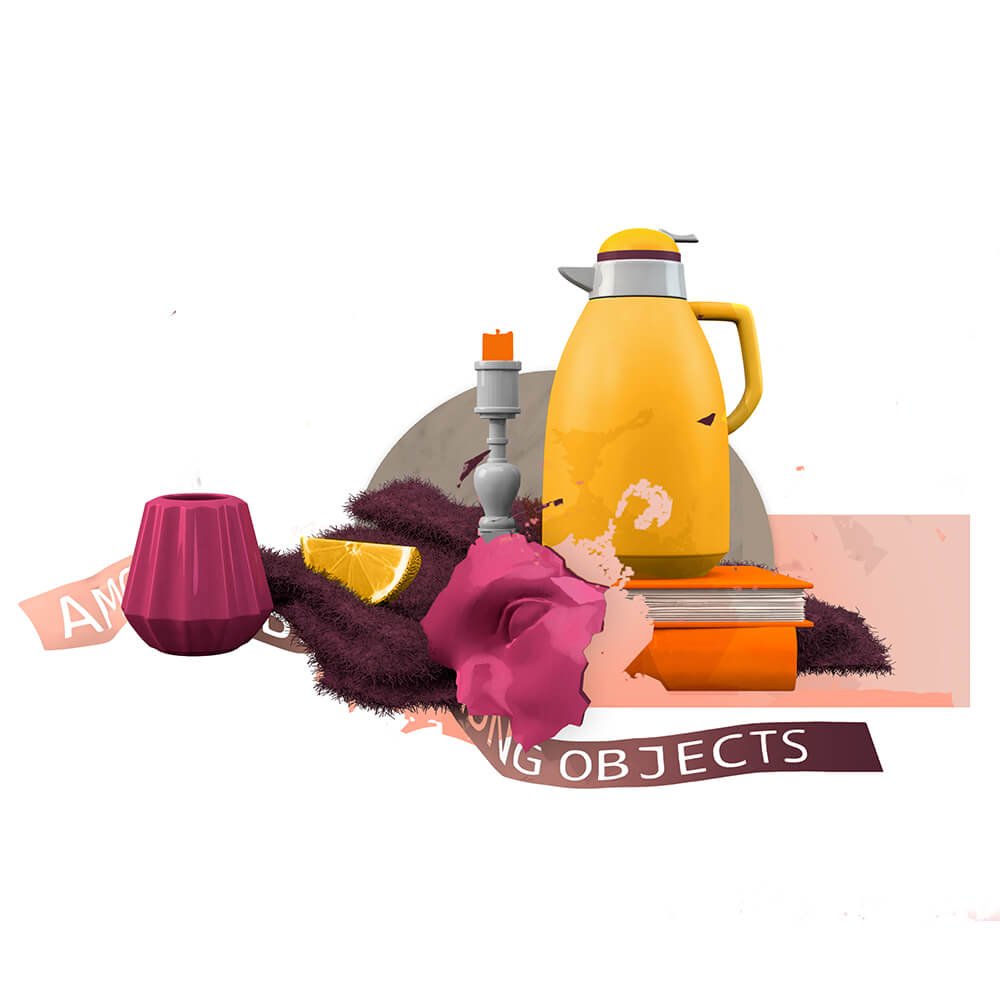Still Life Among Objects
