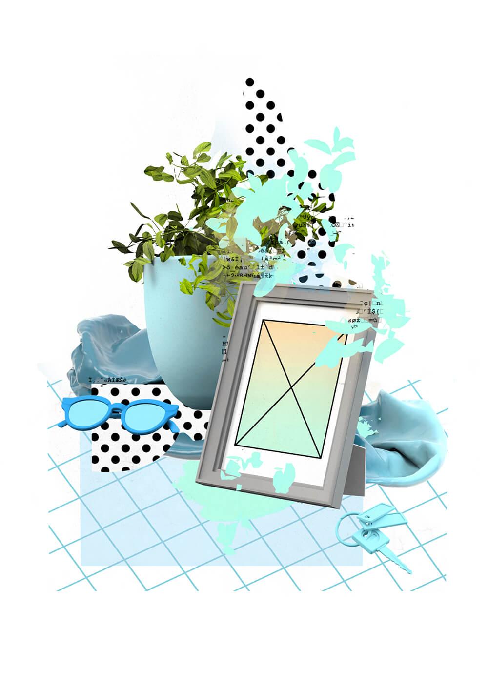 Still Life Image Frame