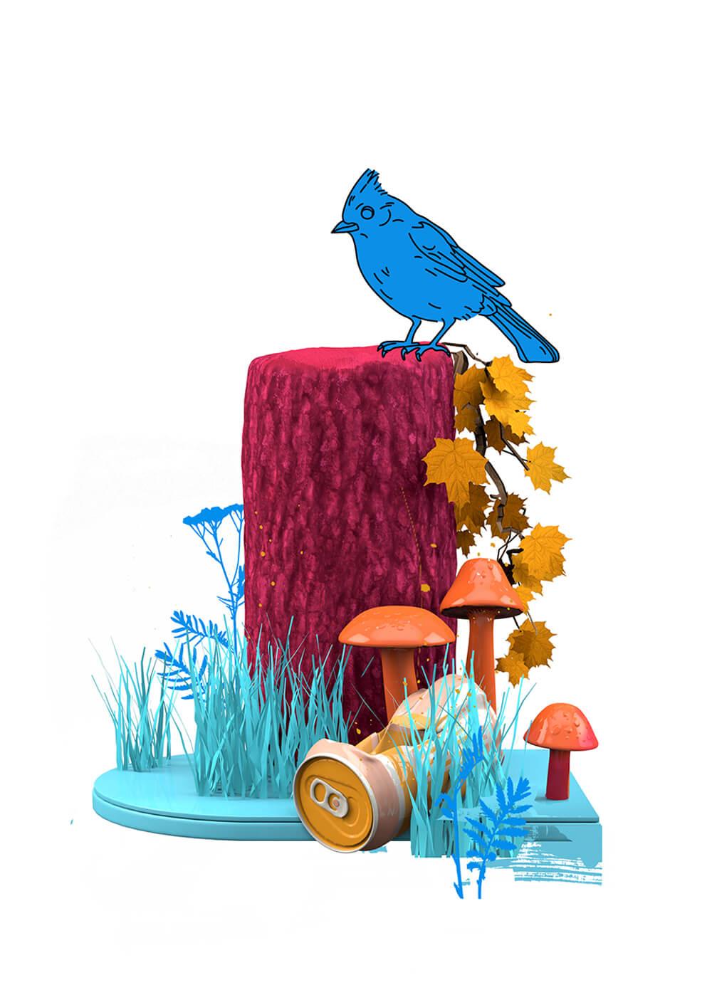 Nature Bird Can